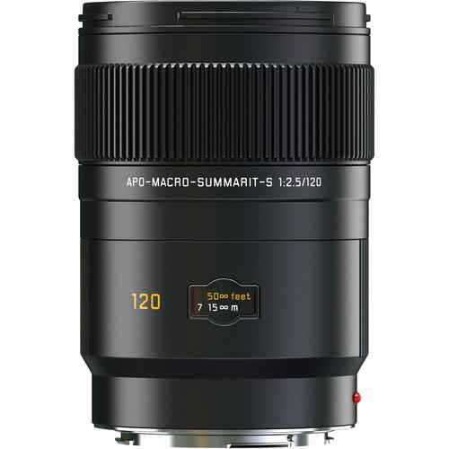 Leica APO-Macro-Summarit-S 120mm f/2.5 Lens