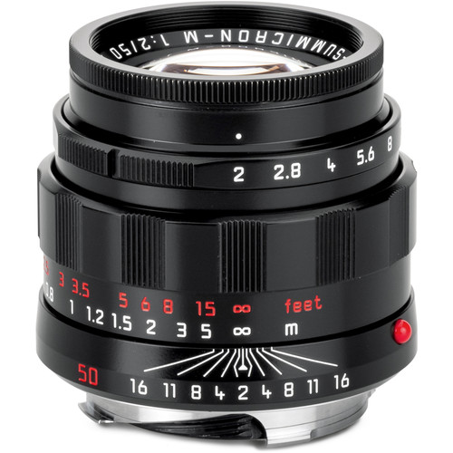 "Leica APO-Summicron-M 50mm f/2 ASPH. Lens (""LHSA"" Edition, Black Paint)"