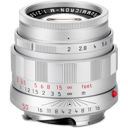 """Leica APO-Summicron-M 50mm f/2 ASPH. Lens (""""LHSA"""" Edition, Silver Chrome)"""