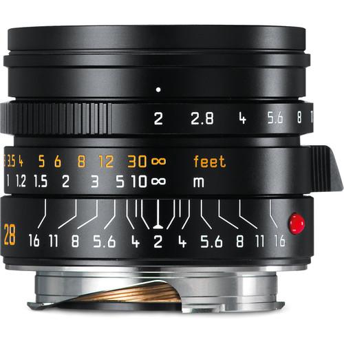 Leica Summicron-M 28mm f/2 ASPH. Lens