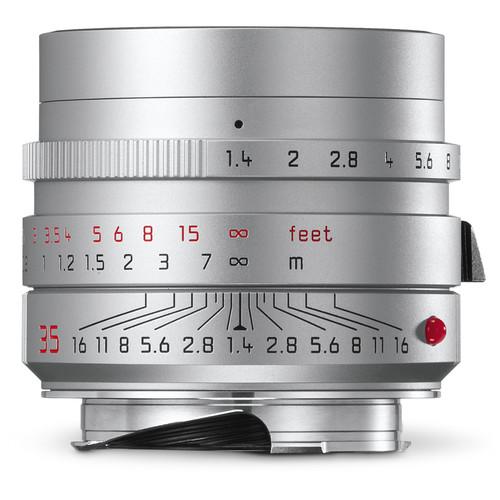 Leica Summilux-M 35mm f/1.4 ASPH. Lens (Silver)