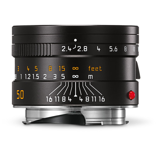 Leica Summarit-M 50mm f/2.4 Lens (Black)