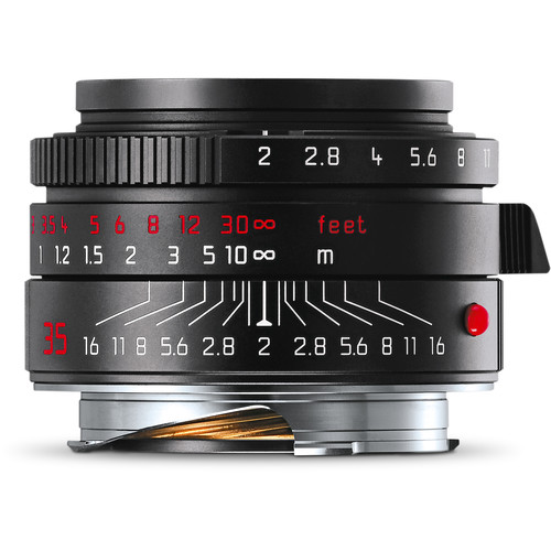 Leica Summicron-M 35mm f/2 ASPH. Lens (Black-Chrome Edition)