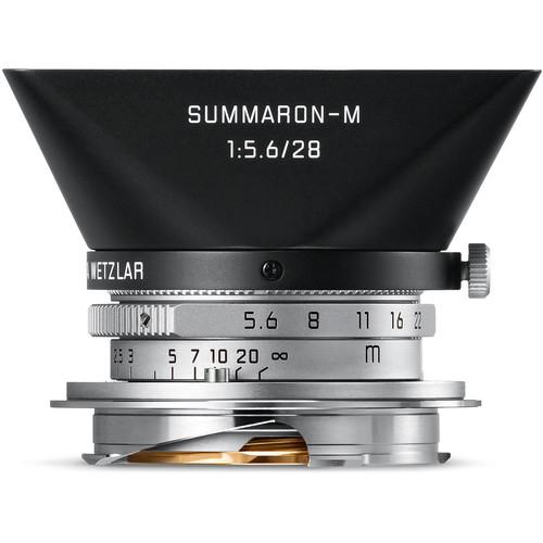 Leica Summaron-M 28mm f/5.6 Lens (Silver)