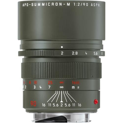 Leica APO-Summicron-M 90mm f/2 ASPH. Edition 'Safari' Lens