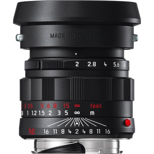 Leica APO-Summicron-M 50mm f/2 ASPH. Lens (Black-Chrome Edition)