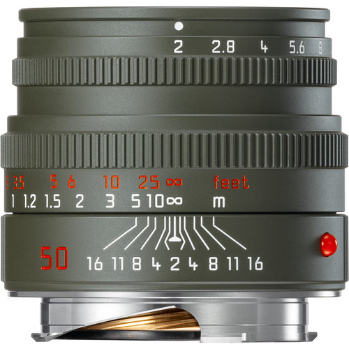 Leica Summicron-M 50mm f/2 Edition 'Safari' Lens