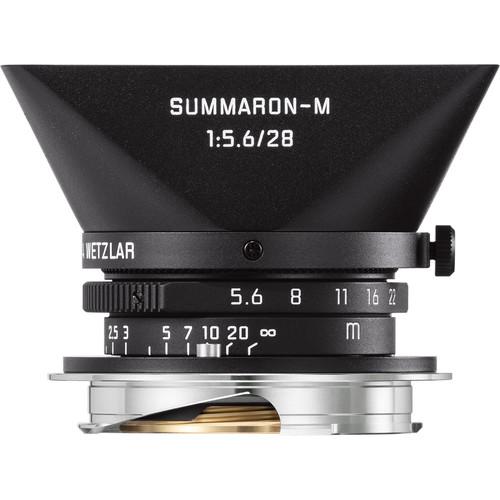 Leica Summaron-M 28mm f/5.6 Lens (Matte Black Paint)