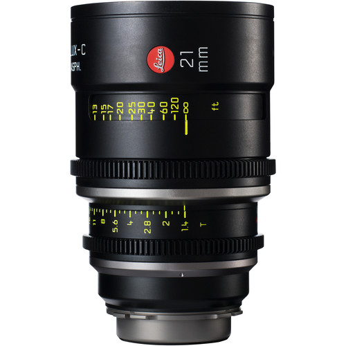 Leica 21mm T1.4 Summilux-C Lens (PL Mount, Marked in Feet)