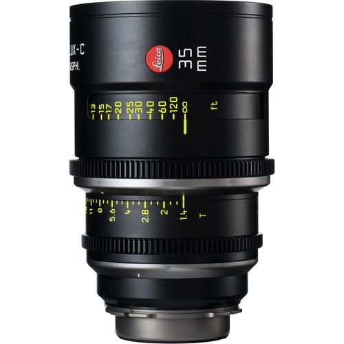 Leitz Cine 35mm T1.4 Summilux-C Lens (PL Mount, Marked in Feet)
