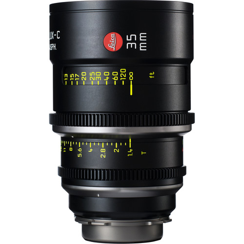 Leica 35mm T1.4 Summilux-C Lens (PL Mount, Marked in Feet)
