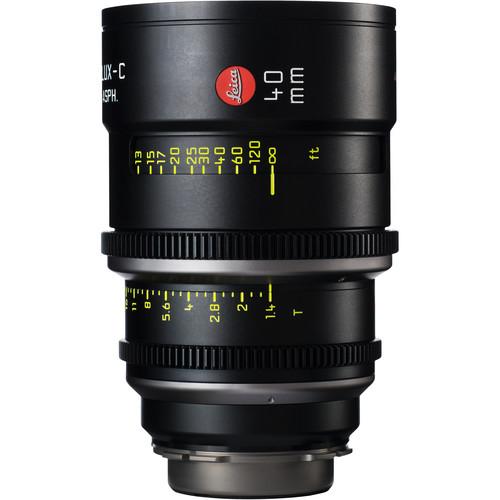 Leitz Cine 40mm T1.4 Summilux-C Lens (PL Mount, Marked in Feet)