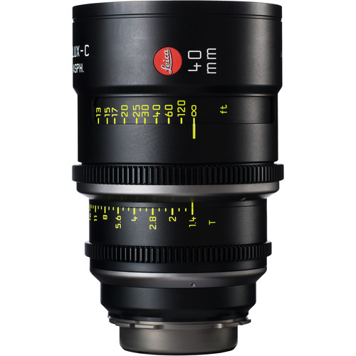 Leica 40mm T1.4 Summilux-C Lens (PL Mount, Marked in Feet)