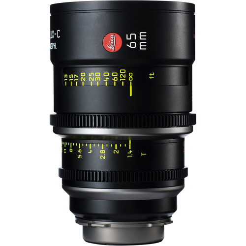 Leica 65mm T1.4 Summilux-C Lens (PL Mount, Marked in Feet)