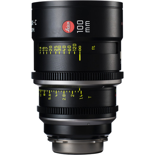Leica 100mm T1.4 Summilux-C Lens (PL Mount, Marked in Feet)