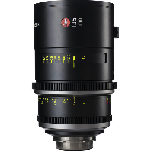 Leica 135mm T1.4 Summilux-C Lens (PL Mount, Marked in Feet)