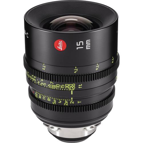 Leitz Cine 15mm T2.0 Summicron-C PL Mount Lens (Feet)