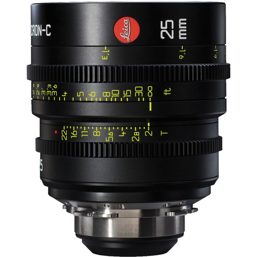 Leica 25mm T2.0 Summicron-C Lens (PL Mount, Marked in Feet)