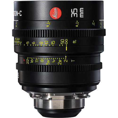 Leica 35mm T2.0 Summicron-C Lens (PL Mount, Marked in Feet)