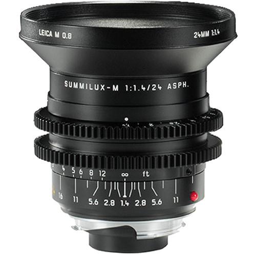 Leitz Cine 24mm M 0.8 f/1.4 Full Frame M-Mount Lens (Feet)