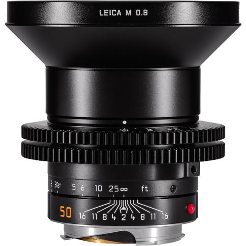 Leitz Cine 50mm M 0.8 f/1.4 Full Frame M-Mount Lens (Feet)