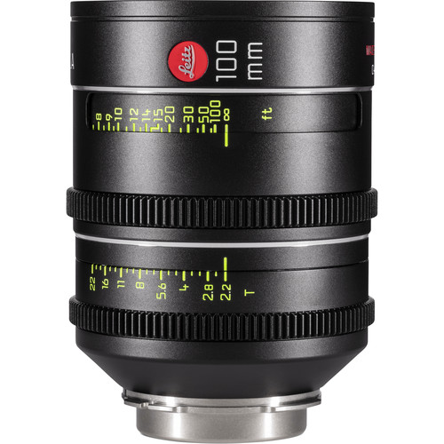 Leitz Cine THALIA 100mm T2.2 PL Mount Cine Lens (Feet)