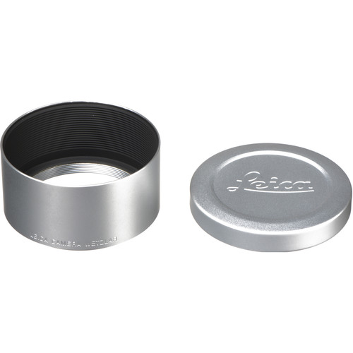 Leica Lens Hood for 75mm f/2.4 & 90mm f/2.4 (Silver)