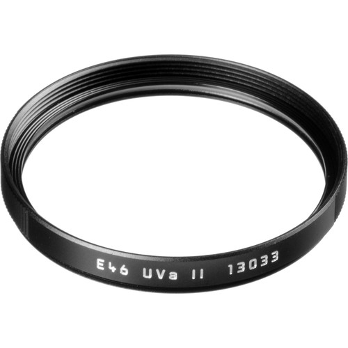 Leica E46 UVa II Filter (Black)