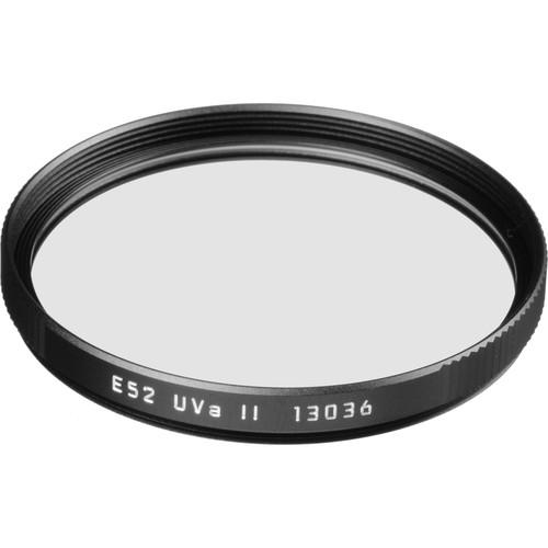 Leica E52 UVa II Filter (Black)