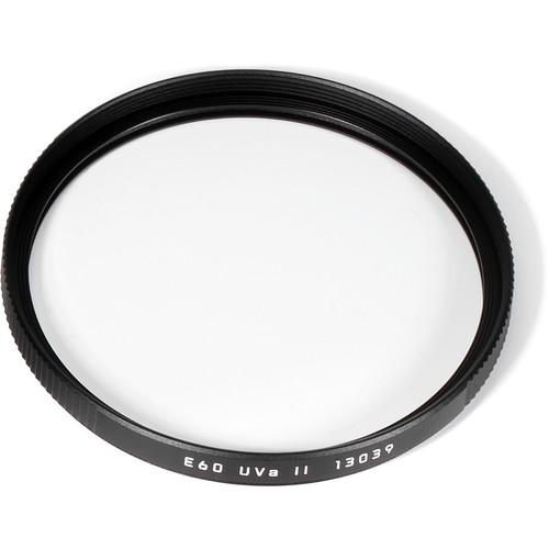 Leica E60 UVa II Filter (Black)