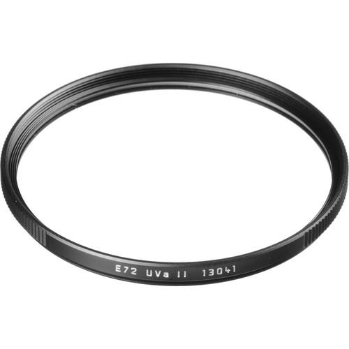 Leica E72 UVa II Filter (Black)