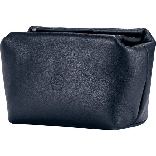 Leica Leather Soft Pouch (Blue)