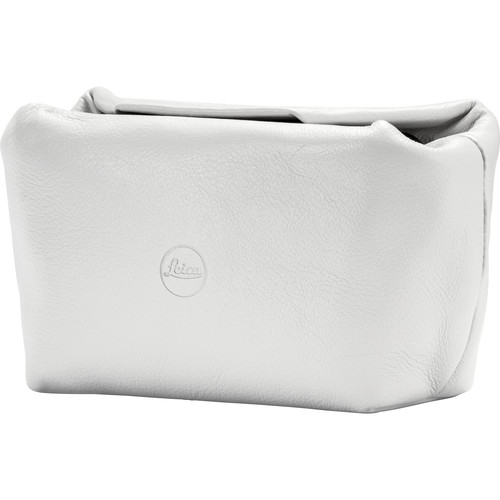 Leica Leather Soft Pouch (White)