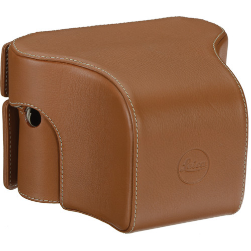 Leica Ever-Ready Case for Leica M or M-P Camera with Short Front Section (Cognac)