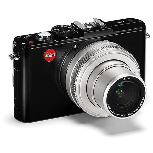 Leica D-LUX 6 Digital Camera (Glossy Black/Silver)