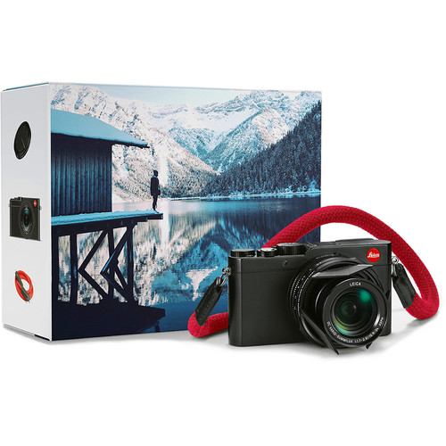 Leica D-LUX (Typ 109) Digital Camera Explorer Kit (Black)
