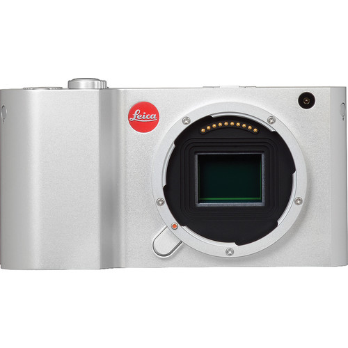 Leica T Mirrorless Digital Camera (Silver, Open Box)