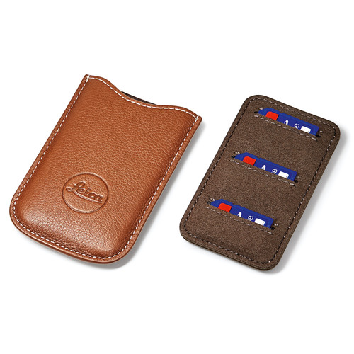 Leica SD and Credit Card Holder (Cognac)