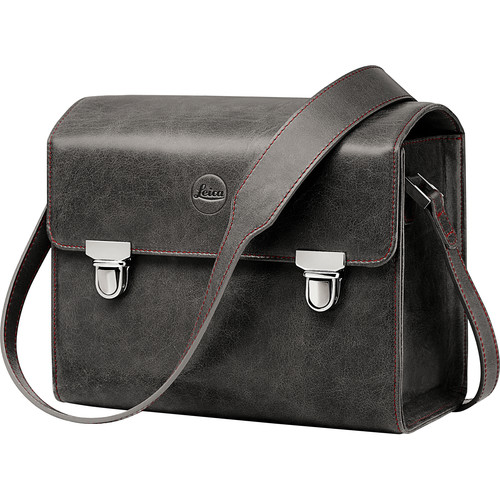 Leica Leather System Case (Small, Stone Gray)
