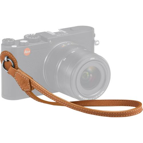 Leica Leather Wrist Strap (Cognac)
