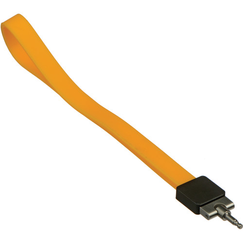 Leica Silicone Wrist Strap for Leica T Camera (Melon/Yellow)