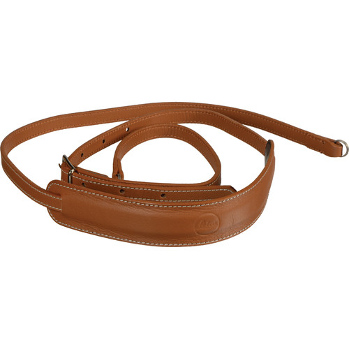 Leica Leather Neck Strap for D-LUX (Typ 109) Camera (Cognac)