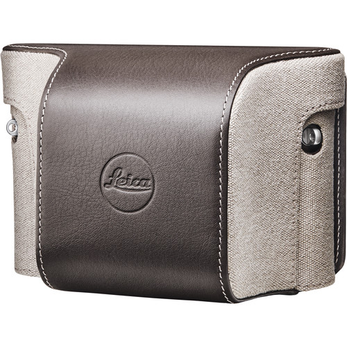 Leica Ever-Ready Case Country for X (Typ 113) Digital Camera (Canvas/Leather, Taupe)