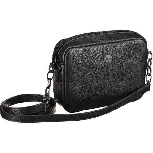 Leica Andrea Leather Handbag (Black)