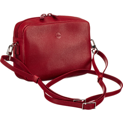 Leica Andrea Leather Handbag (Red)