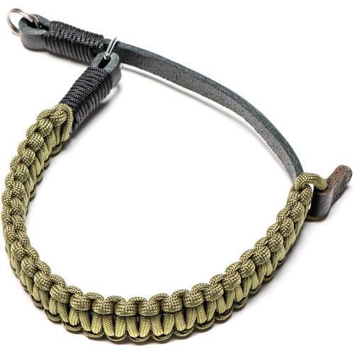 Leica Paracord Hand Strap by COOPH (Black/Olive)
