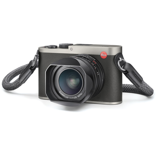 Leica Q (Typ 116) Digital Camera (Titanium Gray)