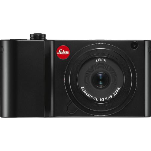 Leica TL2 Mirrorless Digital Camera with 18mm Lens Bundle (Black)