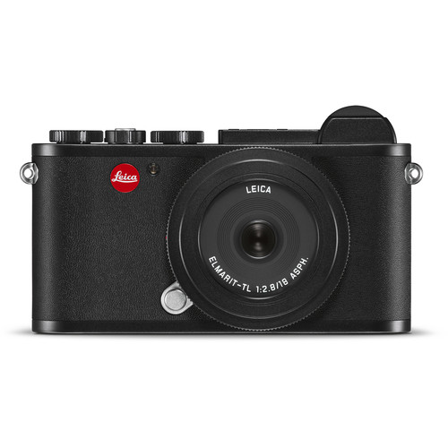 Leica CL Mirrorless Digital Camera with 18mm Lens (Black)