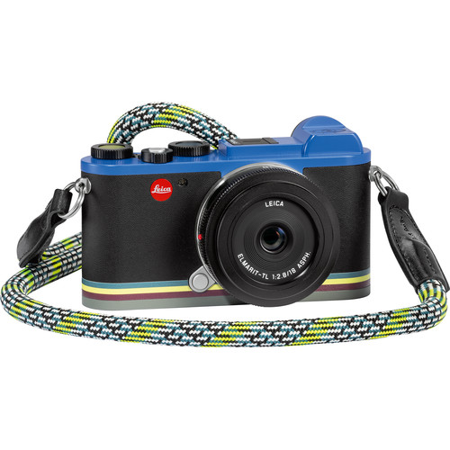 """Leica CL """"Edition Paul Smith"""" Mirrorless Digital Camera with 18mm Lens"""
